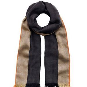 India Hicks Queen's Highway Scarf - Graphite/Gold